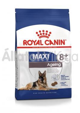 RoyalCanin Maxi Ageing 8+ nagyon idős kutyaeledel 15 kg-os