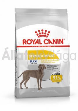 RoyalCanin Maxi Dermacomfort kutyaeledel száraz 3 kg-os