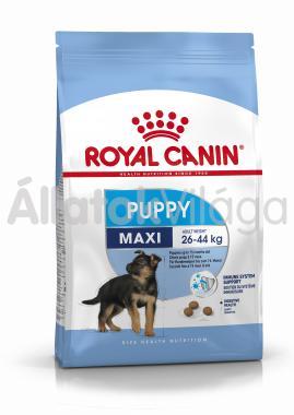 RoyalCanin Maxi Puppy (Junior) kölyök kutyaeledel száraz 15 kg-os