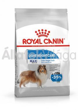 RoyalCanin Maxi Light Weight Care kutyaeledel száraz 15 kg-os