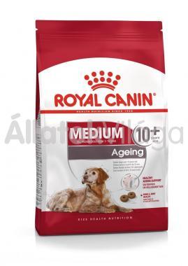 RoyalCanin Medium Ageing 10+ nagyon idős kutyaeledel 15 kg-os