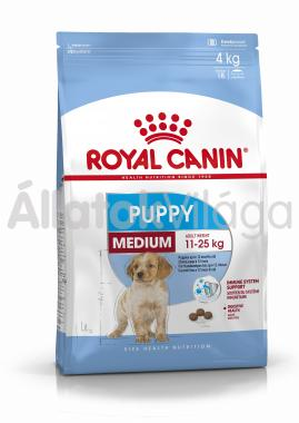 RoyalCanin Medium Junior-kölyök kutyaeledel 15 kg-os