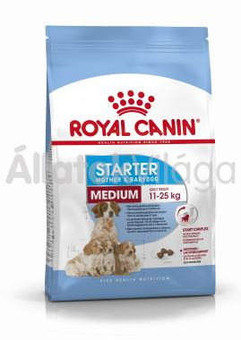 RoyalCanin Medium Starter Mother & Babydog kutyaeledel 4 kg-os