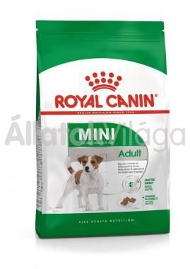 RoyalCanin Mini Adult-felnőtt kutyaeledel 8 kg-os