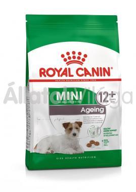 RoyalCanin Mini Ageing 12+ nagyon idős kutyaeledel 800 g-os