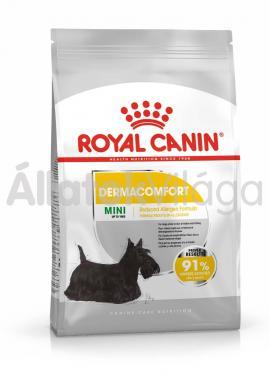 RoyalCanin Mini Dermacomfort kutyaeledel száraz 10 kg-os