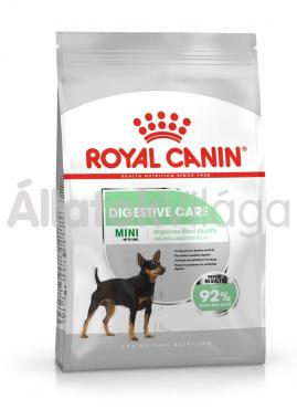 RoyalCanin Mini Digestive Care - érzékeny gyomrú kistestű felnőtt kutya száraz eledel 800 g-os