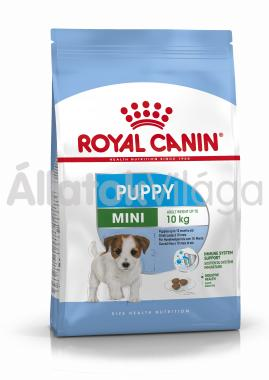 RoyalCanin Mini Junior-kölyök kutyaeledel 8 kg-os