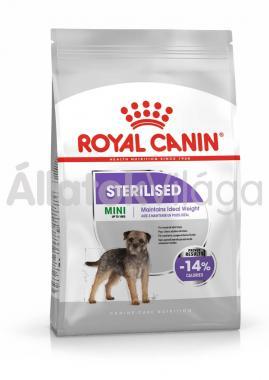 RoyalCanin Mini Sterilised-ivartalanított kutyaeledel száraz 2 kg-os