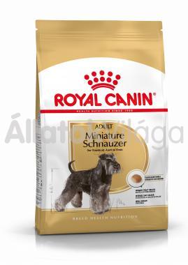 RoyalCanin Miniature Schnauzer (törpe schnauzer) Adult-felnőtt kutyaeledel száraz 500 g-os