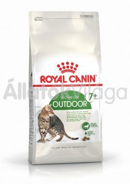 RoyalCanin Outdoor 7+ - szabadba gyakran kijáró, aktív idősödő macska száraz eledel 10 kg-os