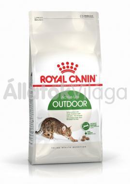RoyalCanin Outdoor - szabadba gyakran kijáró, aktív felnőtt macska száraz eledel 10 kg-os