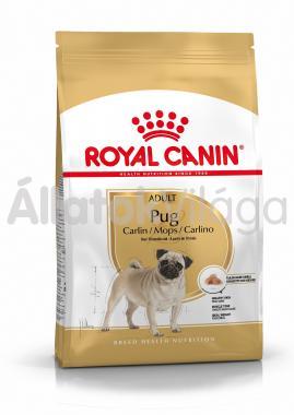 RoyalCanin Pug (Mopsz) Adult-felnőtt kutyaeledel száraz 500 g-os