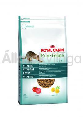 RoyalCanin Pure Feline Vitality - felnőtt macska száraz eledel 1,5 kg-os
