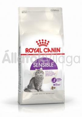 RoyalCanin Sensible 33 érzékeny gyomrú macska eledel száraz 10 kg-os