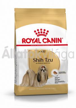 RoyalCanin Shih Tzu Adult-felnőtt kutyaeledel száraz 1,5 kg-os