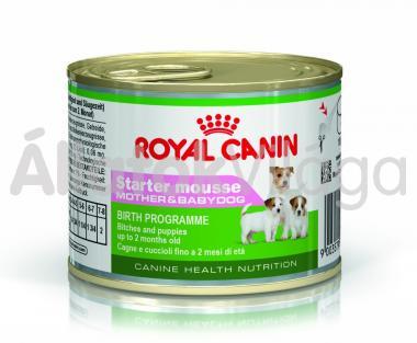 RoyalCanin Starter Mousse Mother & Babydog kutyeledel nedves 195 g-os