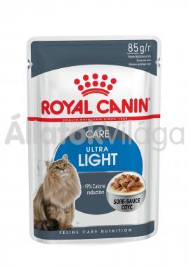 RoyalCanin Ultra Light Care Gravy hízásra hajlamos macskáknak szószos alutasakos eledel 85 g-os