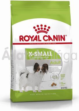 RoyalCanin X-Small Adult-felnőtt kutyaeledel száraz 3 kg-os