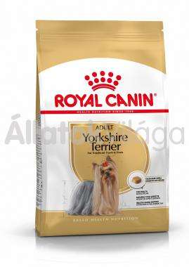 RoyalCanin Yorkshire Terrier Adult - Yorki felnőtt kutya száraz eledel 1,5 kg-os