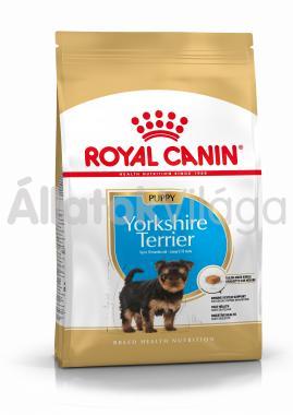 RoyalCanin Yorkshire Terrier Junior-kölyök kutyaeledel 500 g-os