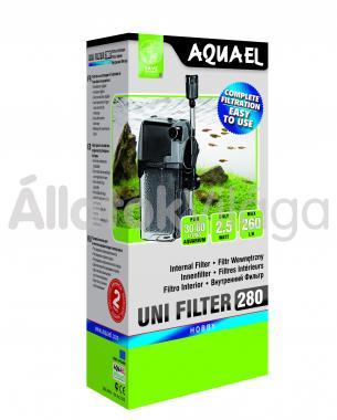 AquaEl UniFilter 280 belsőszűrő 30-60 literig