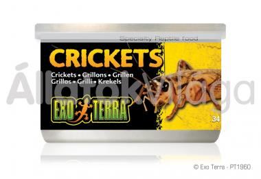 Exo-Terra Crickets konzerv tücsök 34 g-os PT1960