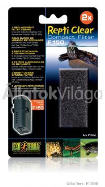 Exo-Terra Repti Clear szivacs betét F150-hez 2 db-os PT2096