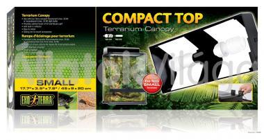 Exo-Terra Compact Top Small armatúra 2 db E27-es foglalattal 45x9x20 cm-es PT2226