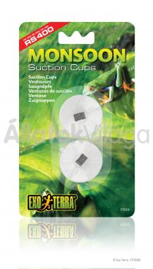 Exo-Terra Monsoon Suction Cups tapadókorong esőztetőhöz 2 db-os PT2502