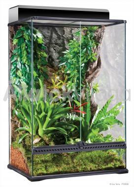 Exo-Terra Natural Terrarium Medium/X-Tall terrárium közép/extra magas 60x45x90 cm-es PT2608