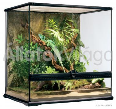 Exo-Terra Natural Terrarium Medium/Tall terrárium közép/magas 60x45x60 cm-es PT2612