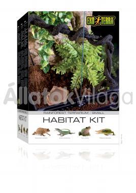 Exo-Terra Habitat Kit Rainforest Small esőerdei élőhely szett 30x30x45 cm-es PT2660