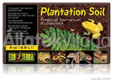 Exo-Terra Plantation Soil - Brick kókuszrost tégla 8,8 literes PT2770