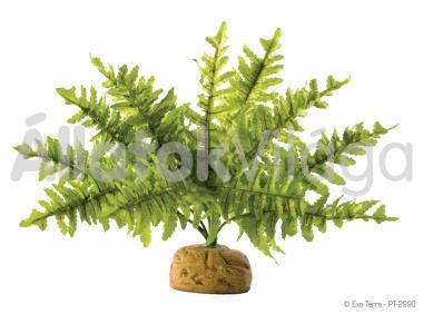 Exo-Terra Rainforest Plants Boston Fern Small esőerdei műnövény kicsi PT2990