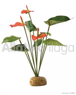 Exo-Terra Rainforest Plants Anthurium Bush esőerdei műnövény PT2992
