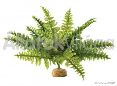 Exo-Terra Rainforest Plants Boston Fern Medium esőerdei műnövény közép PT2995