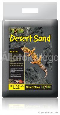 Exo-Terra Desert Sand Black sivatagi homok fekete 4,5 kg-os PT3101