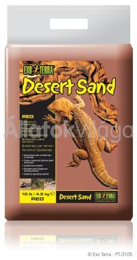 Exo-Terra Desert Sand Red sivatagi homok vörös 4,5 kg-os PT3105
