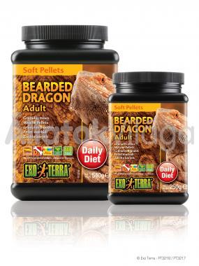 Exo-Terra Bearded Dragon Adult Food felnőtt szakállas agáma eledel 250 g-os PT3217