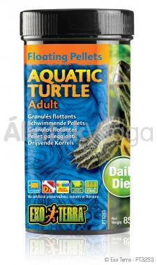 Exo-Terra Aquatic Turtle Adult felnőtt vízi teknős eledel 85 g-os PT3253