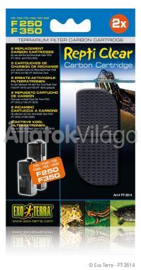 Exo-Terra Repti Clear Carbon Cartridge szén betét F250/F350-hez 2 db-os PT3614