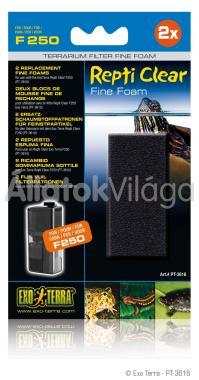 Exo-Terra Repti Clear Fine Foam finom szivacs betét F250-hez 2 db-os PT3616