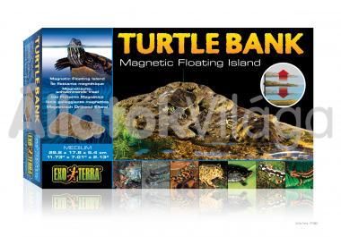 Exo-Terra Turtle Bank Medium teknős part közép 298x178x54 mm-es PT3801