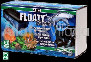 JBL Floaty Shark mágneses algakaparó 20-30 mm-es üvegig