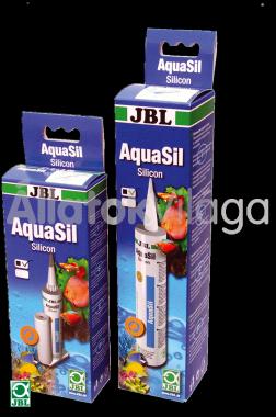 JBL AquaSil szilikonos ragasztó 310 ml-es fekete