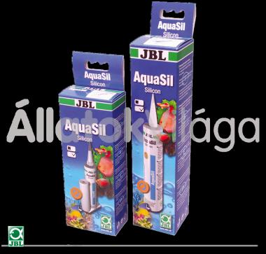 JBL AquaSil szilikonos ragasztó 80 ml-es átlátszó