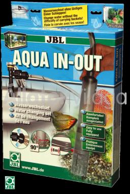 JBL Aqua In-Out Complett-Set akváriumvíz töltő és eltávolító szett