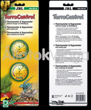 JBL TerraControl analóg hő- és páramérő