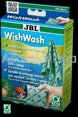 JBL WishWash akváriumi és terráriumi törlőkendő és szivacs